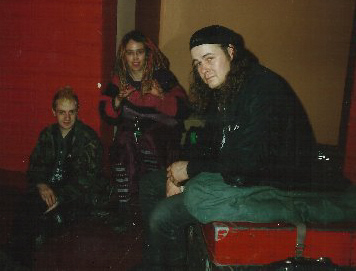 93-04 Hellkrusher & Dirt tour Gus Karen Scotty in Germany