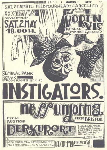 92-05-02 Instigators - Nessun Dorma - Kurort
