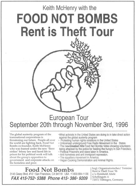 96-10-26 Rent Is Theft poster