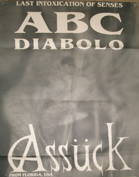 Assück - ABC Diabolo tourposter 93