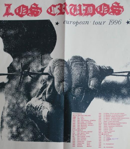 Los Crudos tourposter 96 (-)