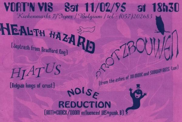 95-02-11 Health Hazard - Hiatus - D'Rotzbouwen