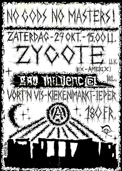90-10-27 Zygote - Bad Influence