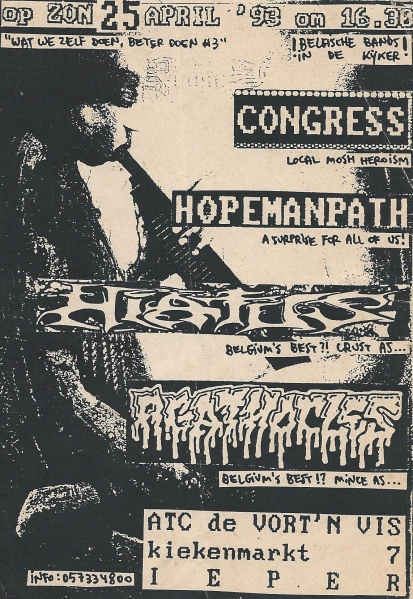 93-04-25 Congress - Hiatus - AgX - Hopeman Path