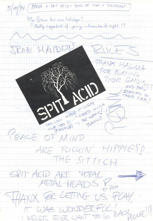 VV 94-11-05 - (book B) Brob + SpitAcid + POM