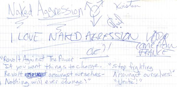 VV 95-03-05 - (book B) Naked Aggression