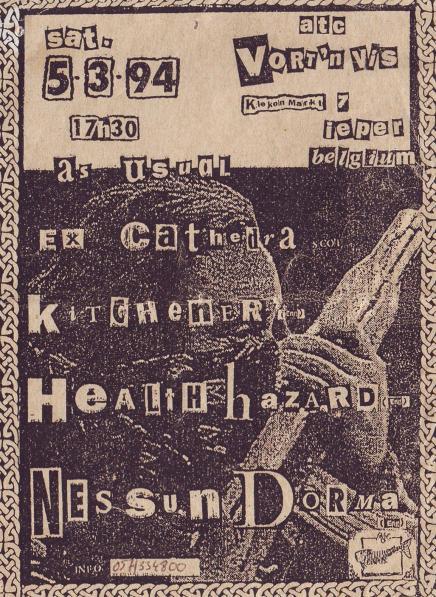 94-03-05 Health Hazard - Nessun Dorma - Ex Carhedra (+)