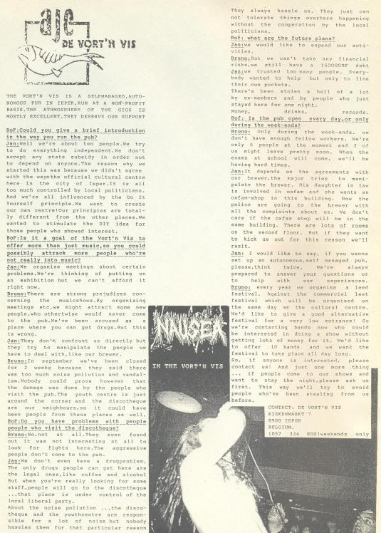 Vort'n Vis (B.O.F. #6) 1992
