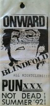 92-08-09 Blindfold Onward tourpass