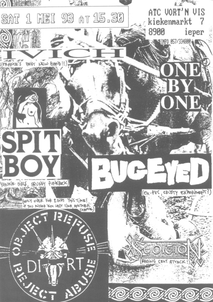93-05-01 Spitboy - Ivich - One By One - Sedition