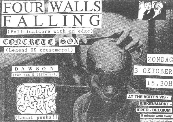 93-10-03 Four Walls Falling - Dawson