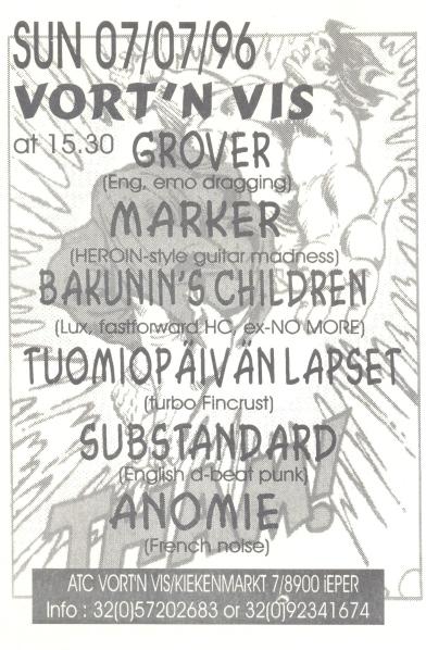 96-07-07 Anomie - Marker - Bakunin's Children