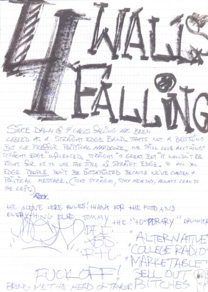 VV 93-10-03 - (book B) 4 Walls Falling