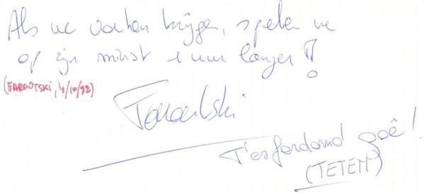 VV 92-10-04 - (book A) Faroutski