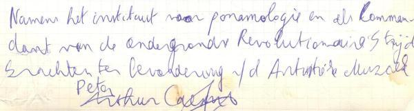 VV 96-08-18 - (book C) Peter Arthur Caesens