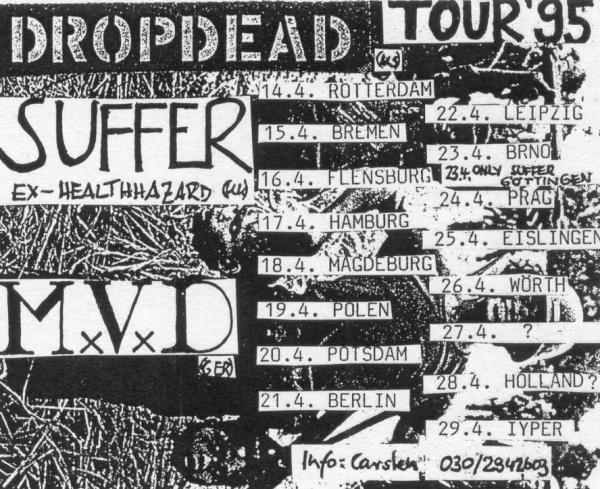 95-04 Drop Dead MVD Suffer tour
