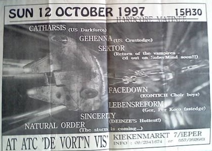 97-10-12 Catharsis - Gehenna