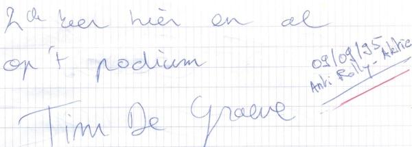 VV 95-09-08 - (book B) Tim De Graeve