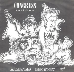 Congress Euridium limited 7'' cover