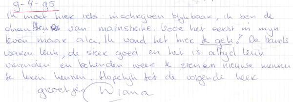 VV 95-04-09 - (book B) Diana