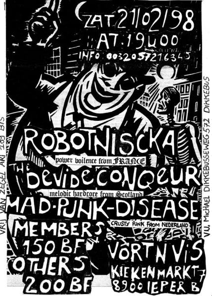 98-02-21 Devide & Conquer - Robotnicka - Mad Punk Disease