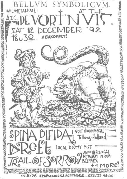92-12-12 Spina Bifida - Dreft