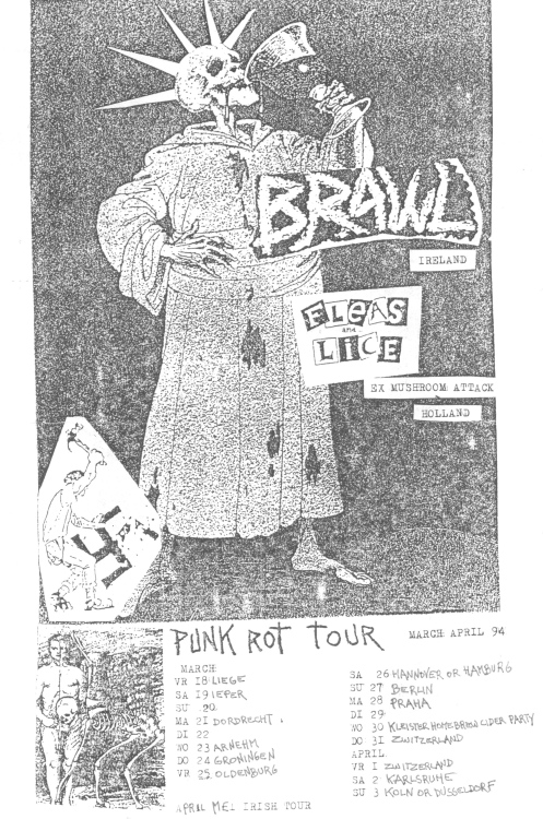 94 Brawl - Fleas & Lice tour