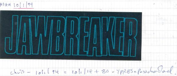 VV 94-10-01 - (book B) Jawbreaker Adam