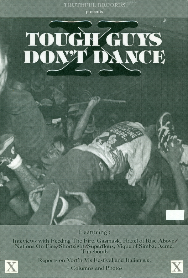 Tough Guys Don't Dance (022) cover
