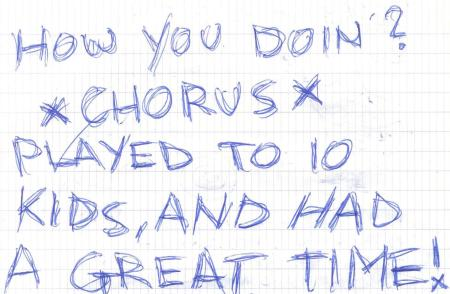 VV 94-07-10 - (book B) Chorus Of Disapproval