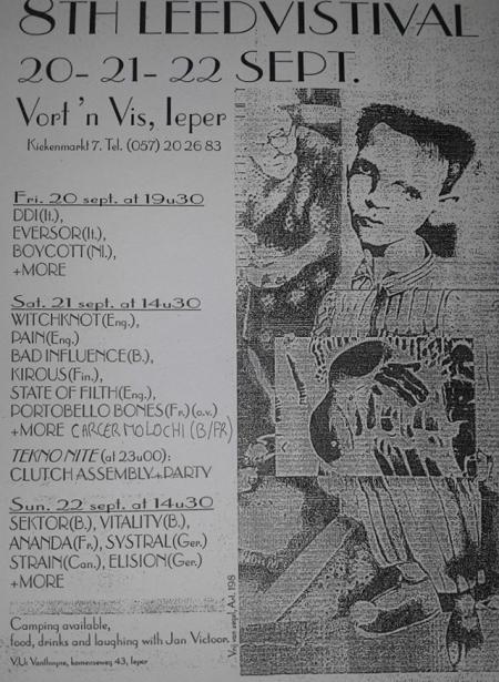 96-09-20&21&22 Leed fest #8 poster 1