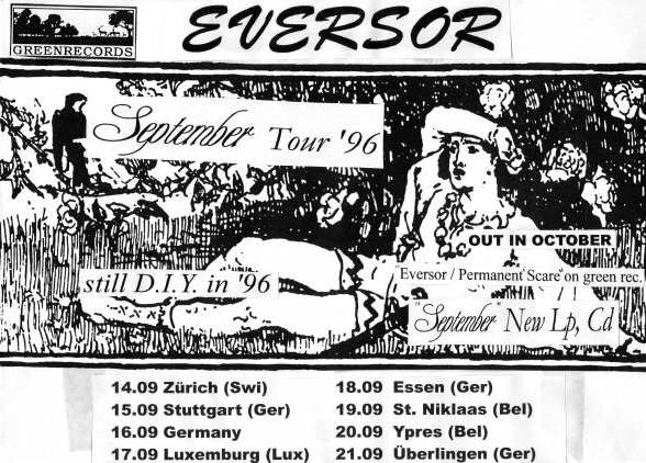 96 Eversor tour