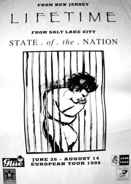 95 Lifetime - State Of The Nation tour
