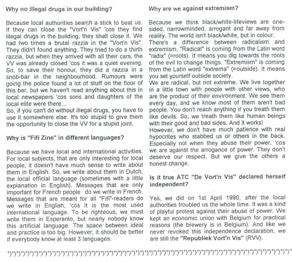 Questions & Answers (Fifi #6 aug 95) c