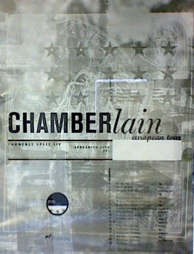 96 Chamberlain tourposter
