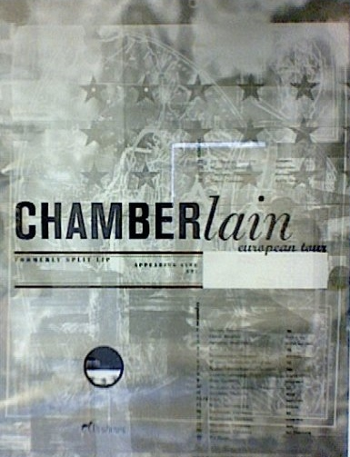 96 Chamberlain tourposter