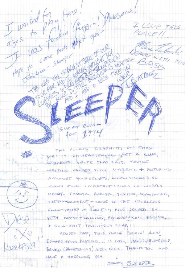 VV 94-05-22 - (book B) Sleeper