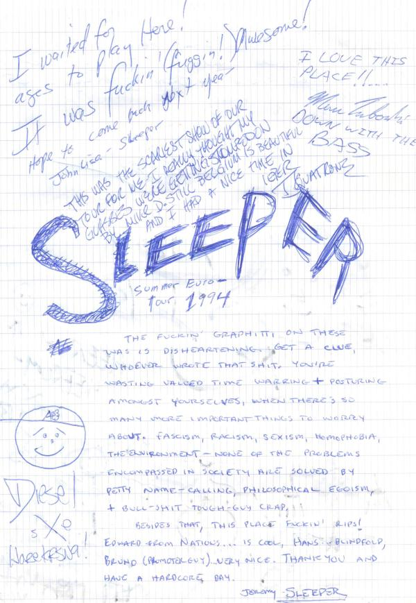VV 94-05-22 - (book B) Sleeper