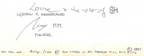 VV 97-10-25 - (book C) Sorehead'