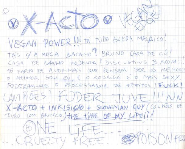 VV 94-09-18 - (book B) X-Acto