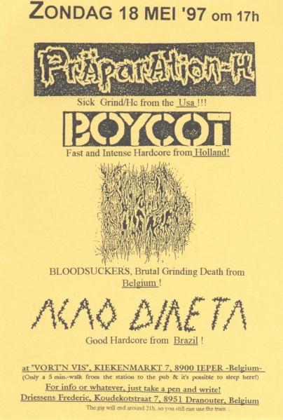 97-05-18 Präparation-H - Boycot - Açao Direta