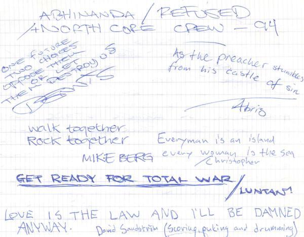 VV 94-08-20 - (book B) Abhinanda & Refused